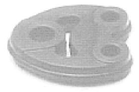 """Metalcaucho 00089 - BRIDA INOX CITROEN LARGA """"DESCAT."""""""