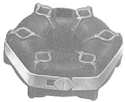 Metalcaucho 00220 - TIRANTE TUBO ESCAPE SEAT 124
