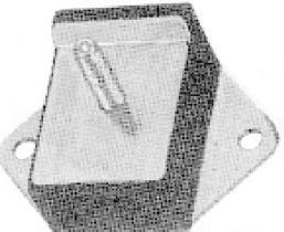 Metalcaucho 00408 - SOPORTE MOTOR TRAS CITROEN 2CV