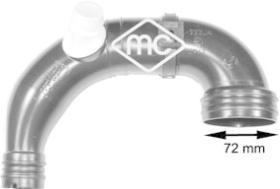 Metalcaucho 03905 - TUBO ENTR.AIRE TURBO MITO-PUNTO  (B)