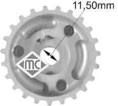Metalcaucho 05416 - PIÑON CIGU.-C2-C3-BERLINGO HDI-FOCUS