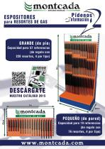 "Montcada 11000071 - EXPOS. RESORTES "" PARED "" 18 RFAS.(76 UDS.)"