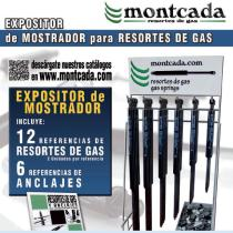 "Montcada 11000300 - EXPOS. RESORTES "" PIE "" 57 RFAS. (228 UDS.)"