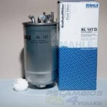 FILTRO COMBUSTIBLE   Mahle